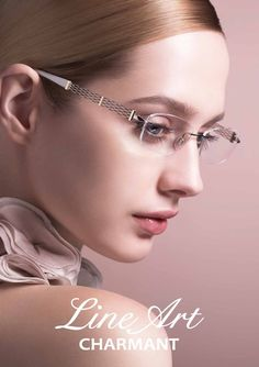 Charmant's new Line Art are captures the spirit of the opera with not only design, style, comfort, material and technology. It is a composite eyewear form for the latest in eyewear. It provides a contemporary feminine beauty on the profile along with a delicate shimmer of Excellence Tita