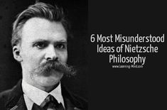 Nietzsche Philosophy: 6 Misunderstood Ideas That Will Make You Think – Learning Mind ♦๏~✿✿✿~☼๏♥๏花✨✿写☆☀🌸🌿🎄🎄🎄❁~⊱✿ღ~❥༺♡༻🌺<TU Mar ♥⛩⚘☮️ ❋ Nietzsche Philosophy, Nietzsche Quotes, Philosophy Quotes, Lao Tzu Quotes, Hemingway Quotes, Deeper Life, Alice And Wonderland Quotes, Types Of Relationships, Learning Quotes