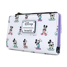 Loungefly X Disney Mickey Mouse Pastel Poses Wallet – Loungefly.com