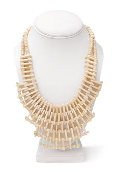 Clear Cut Beaded Bib Necklace | Forever 21 - 1000062431
