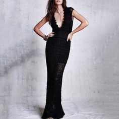 Fashion Sexy V Collar Lace Hollow Out Evening Dress – joymanmall dress cute casual cute casual dress lace dress pretty dresses dresses for v dress stylish Night Gown Dress, V Dress, Women's Evening Dresses, Lace Dress, Bodycon Dress Formal, Beautiful Cocktail Dresses, Mermaid Prom Dresses, Fashion Dresses, Dresses Dresses