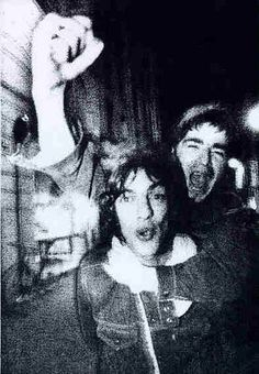 Richard Ashcroft and Noel Gallagher