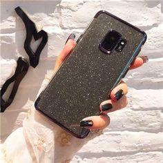 e64968d3b7e Soft TPU Gradient Glitter Silicone Cases for Samsung Galaxy J5 J7 A5 A3 A7  J4 J6 A8 A6 S8 S9 Plus S7 S6 Edge Note 8 9