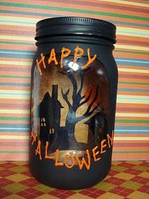 Tips from the Heart for the Home: Happy Halloween Craft: Part II