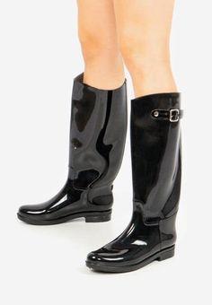 Cizme de cauciuc Madeira V2 Negre Riding Boots, Navy, Winter, Kids, Shoes, Fashion, Wood, Horse Riding Boots, Hale Navy
