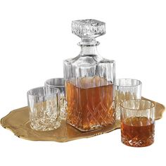 Denmark 6-pc. Whiskey Glass Set (88 BRL) ❤ liked on Polyvore featuring home, kitchen & dining, food, decor, food & drink and kitchen