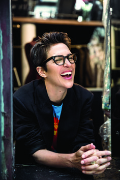 Rachel Maddow chats with Olivia Nuzzi about her ratings surge, reporting on the Trump Administration, Roger Ailes, Kellyanne Conway, and those tax returns Beautiful Inside And Out, Beautiful People, Rachel Maddow, Glamour Magazine, Smart Women, Madly In Love, Woman Crush, Equality, Fashion Forward