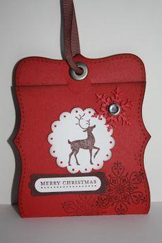 De Stampin' Corner: Top Note Gift Card Holder Tutorial