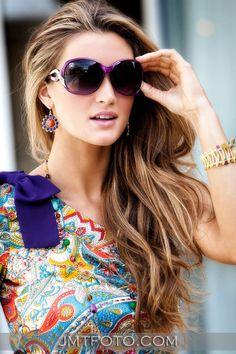 brittany kerr | Brittany Kerr wearing StarStruck sunglasses by SINGE Eyewear