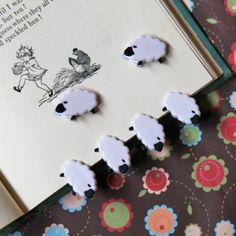 Counting Sheep Paper Clips