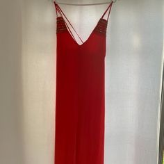 Maxi length, coral event dress with gold beading, center slit a-line silhouette. Save The Planet, Selling Online, Extra Money, Second Hand Clothes, Platform, Formal Dresses, Unique, Stuff To Buy, Shopping