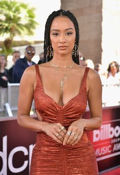 Draya Michele Photos - Draya Michele attends the 2019 Billboard Music Awards at MGM Grand Garden Arena on May 2019 in Las Vegas, Nevada. Black Is Beautiful, Beautiful People, Beautiful Women, Draya Michelle, Black Actresses, Doja Cat, Dress With Sneakers, Cute Beauty, Celebs
