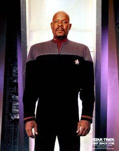 Benjamin Sisko - Best father in Star Trek and my personal favourite captain. (Deep Space Nine)