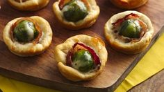 Brussels Sprouts & Bacon Crescent Cups #pillsbury #greengiant