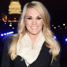 Carrie in front of the capital building after the concert of valor for Veterans Day!