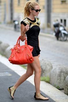 dress and the bag is to die for