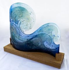 Waves by Bobbie Coleman