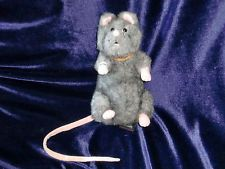 HARRY POTTER SCABBERS PLUSH TOY GUND 2001 RON WEASLEY PET STUFF ANIMAL RAT MOUSE