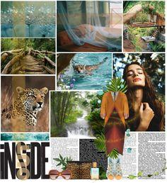 """Jungle"" by palmanana ❤ liked on Polyvore"