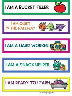 Kindergarten Classroom Management, Preschool Classroom, Future Classroom, Art Classroom, Classroom Ideas, Teaching Supplies, Teaching Ideas, Brag Tags, Behavior Management