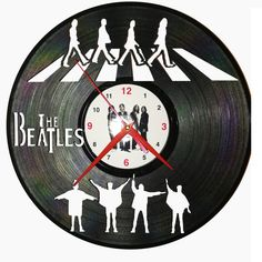 Ceas disc vinil - THE BEATLES