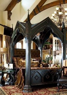 Gothic Bed♠️