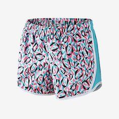 41d379c0c876ae Nike Tempo Allover Print 2 Girls  Running Shorts