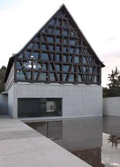 Stone Sculpture Museum by Tadao Ando  #architecture #stone #facade #concrete