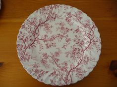 lovely vintage to add to or begin your collection set of two dinner plates