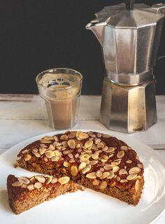 Milk and Honey: Almond and Pear Cake