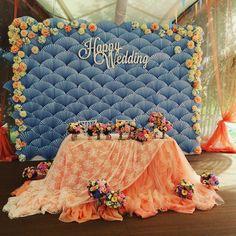 Paper fan decorations wedding