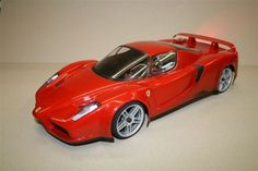 1/10 Scale Ferrari Enzo rc car body 200mm associated tamiya losi kyosho 0055 #DeltaPlastik