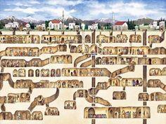 Ancient Underground Cities in Turkey