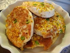 Sweetcorn pikelets