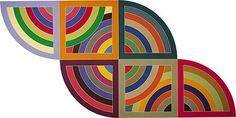 """""""Harran II"""" de Frank Stella. Ritmo concéntrico."""
