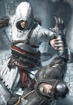 Assassin's Creed - Promo Artwork #AssassinsCreed #Altair