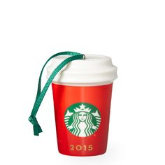 Red Holiday Cup Ornament