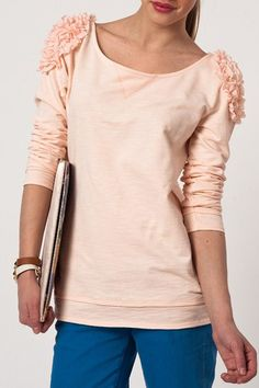 Powder Pink Blouse @Trendyol