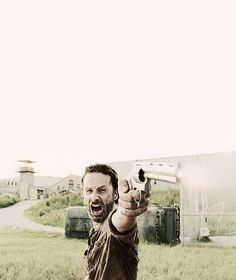 we let go of all of it. and nobody dies. everyone who's alive right now. everyone who's made it this far. we've all done the worst kinds of things just to stay alive. but we can still come back. we're not too far gone. we get to come back. i know… we all can change. - Rick Grimes