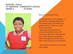 Please consider sponsoring a child at www.meant2live.org by clicking DONATE  #Meant2Live #OZProject #education #food #zambia #givingback