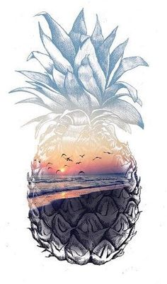 Wallpaper Tutorial and Ideas Cute Pineapple Wallpaper, Pineapple Art, Summer Wallpaper, Pineapple Tattoo, Iphone Background Wallpaper, Aesthetic Iphone Wallpaper, Aesthetic Wallpapers, Cute Wallpaper Backgrounds, Pretty Wallpapers