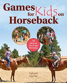 This collection of fun (and safe) games that will delight children taking riding lessons and getting together to have fun with their horses. It includes classic games that have been played in 4-H and