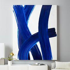 "Blue Shock   CB2 48""x60"""