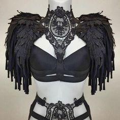 New arrivals boudoir lingerie harness tops cage bras gothic couture accessories Burning Man Outfits, Buy Costumes, Dance Costumes, Estilo Tribal, Gothic Lingerie, Burning Man Art, Couture Accessories, Dark Fashion, Costume Design