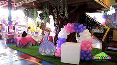 decoracion de la princesita sofia con globos - Buscar con Google