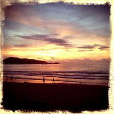 Sunset , patong beach phucket thailand