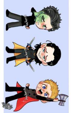 Hulk, Loki & Thor || Avengers Infinity War || Cr: ℒɐızʎ_ArTš