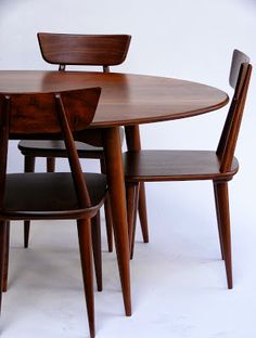 1000 images about ronde eettafel on pinterest round - Table ronde vintage ...