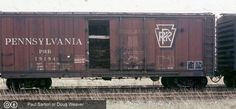 PRR, Pennsylvania Rail Road 50' Insulated Boxcar, 19194 August 12th, 1979, Buffalo, NY<br><small>The original image is 4415x2048</small>