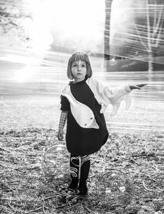 Gorgeous space kids inspired modern look shoot by Federico Leone for Collezioni magazine